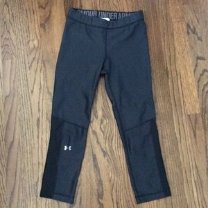 Under Armour patterned cropped leggings
